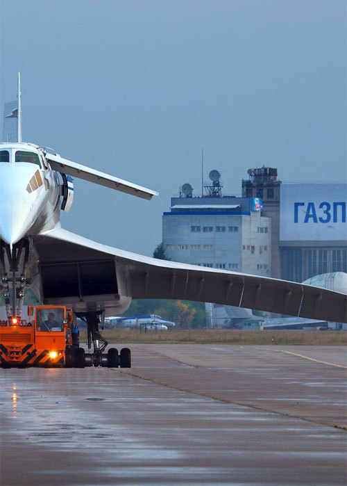 Tupolev Tu-144 CCCP-77115, Gromov Flight Research Institute, Moscow, 2009 (photo by  Oleg V. Belyakov)