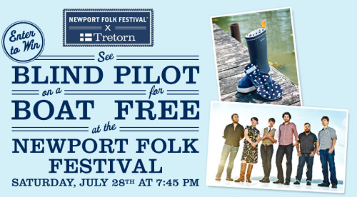 Need tickets to Folk Fest…Tretorn wants to hook you up…enter here.