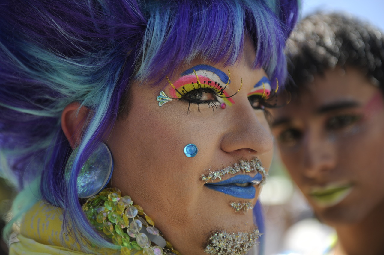 Photos: Denver PrideFest 2012 In the wake of the civil unions bill that died a procedural death in the Republican-controlled Colorado House in May and President Barack Obama's recent vocal support of gay marriage, this year's Denver PrideFest had a particularly political charge. (Photo by Heather Rousseau, The Denver Post)