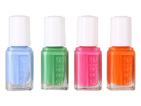 Mix and match for the ultimate warm-weather mani.   Essie Summer 2012 Nail Polish Collection, $17, Zappos.com