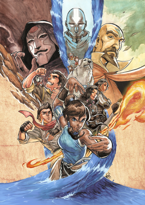The Legend of Korra by Marcel Perez
