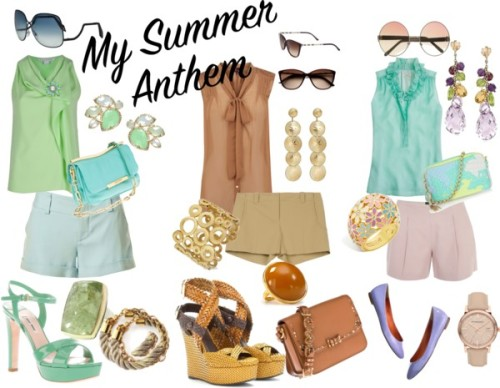 summer anthem by nigulka featuring genuine leather handbags