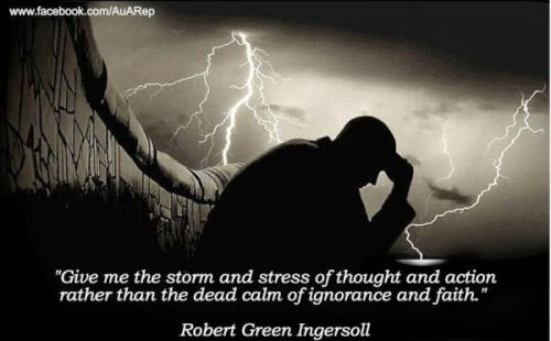 Robert Ingersoll was a man ahead of his time.