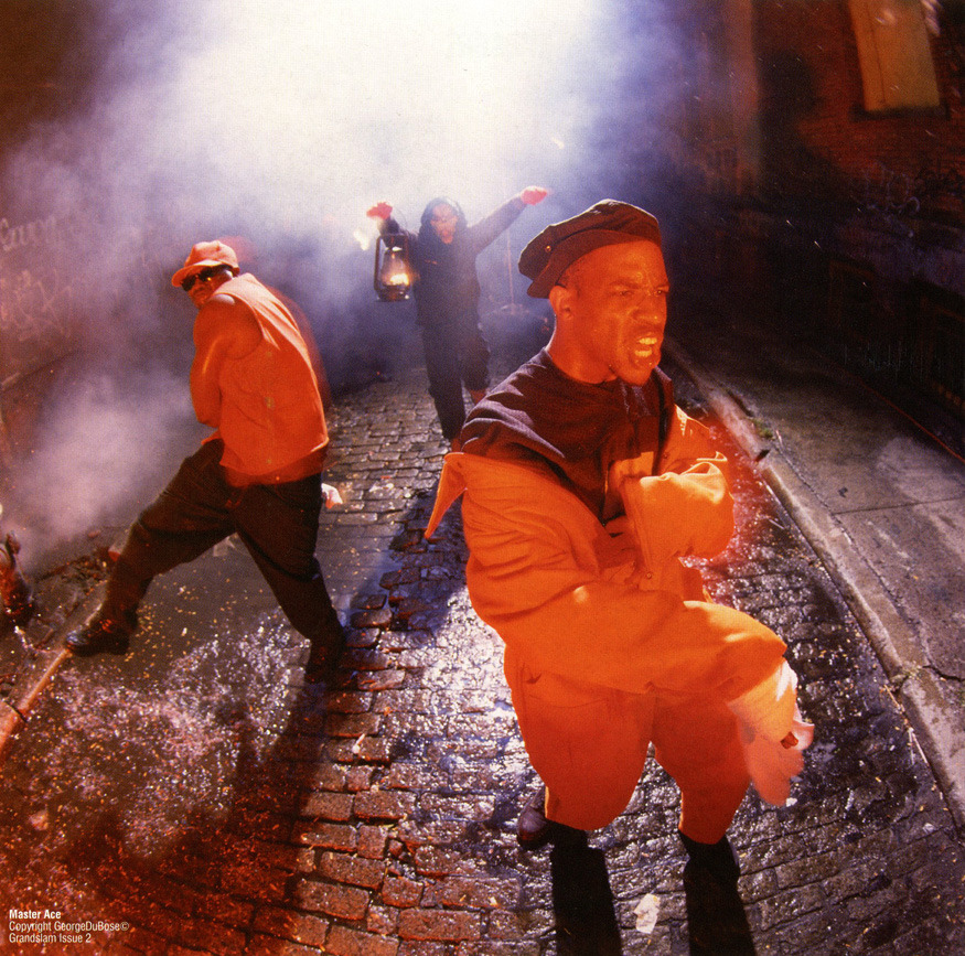 Slaughtahouse. Photo of Masta Ace by George DuBose.