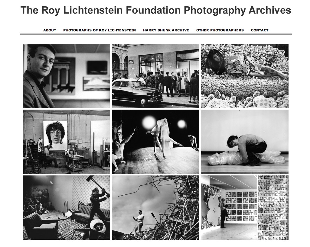 The Lichtenstein Foundation's Shunk-Kender photo archive is now online! The archive contains more than 200,000 items documenting over 450 artists or art events, including some great Rauschenberg photos we had never seen before.