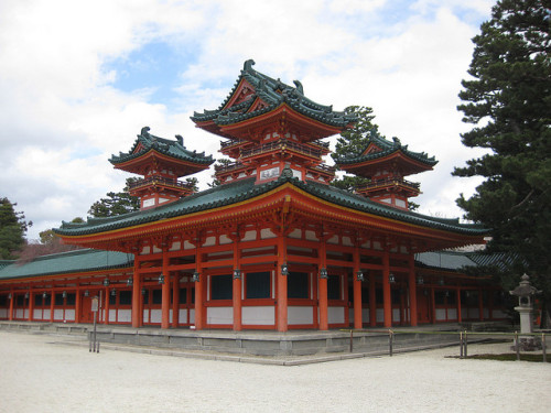 l5rart:  Heian Shrine, Kyoto