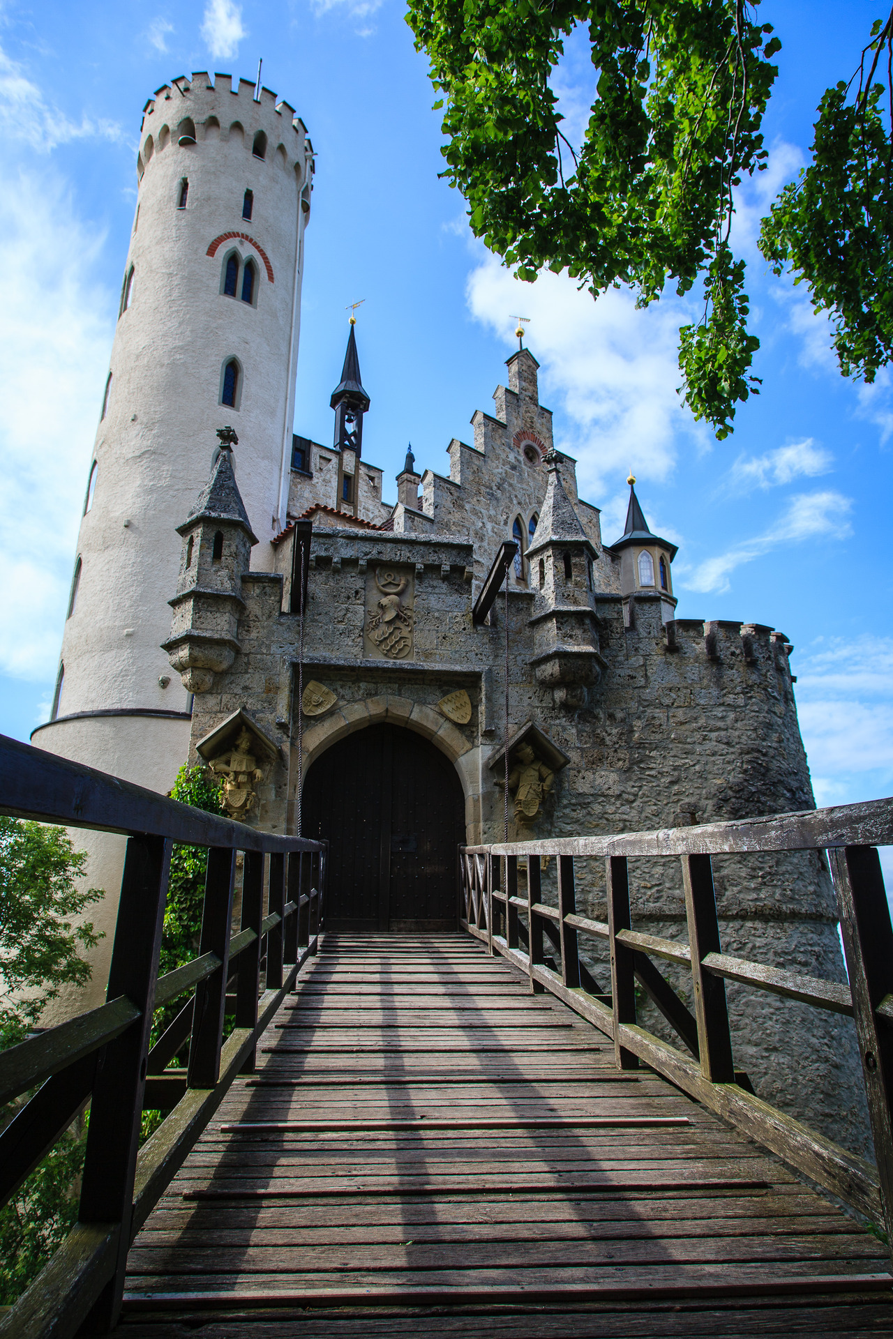 Lichtenstein Castle, by Omar Chatriwala.