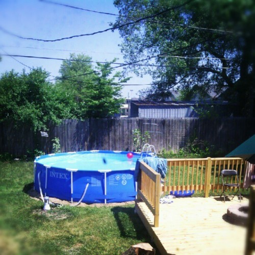 Dat pool ^-^ (Taken with Instagram)