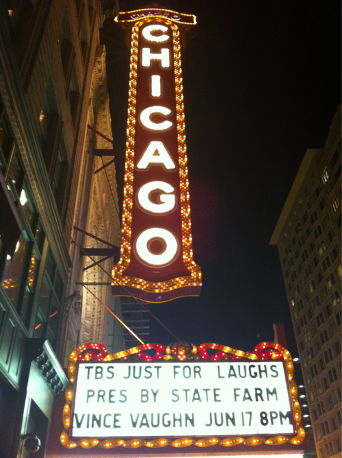 "Last night's show at the Chicago Theatre - Vince Vaughn's Wild West Comedy Showcase - was the perfect way to close out Just for Laughs Chicago. We'll be honest: We're not ready for it to be over. But interpretive dance, a water-gun-infused Scarface reenactment, and a rousing, shirtless rendition of ""Don't Stop Believing"" helped to ease the pain. Don't go away, though! We still have tons of hilarious videos from our comedian interviews and the TBS LOL Lounge, and we can't wait to share them all with you!"