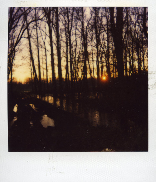 There's also a Polaroid section in my site…I finally scanned some Polaroids that were lying around in my parent's house! This one was taken in Leuven, Belgium, in 2007.