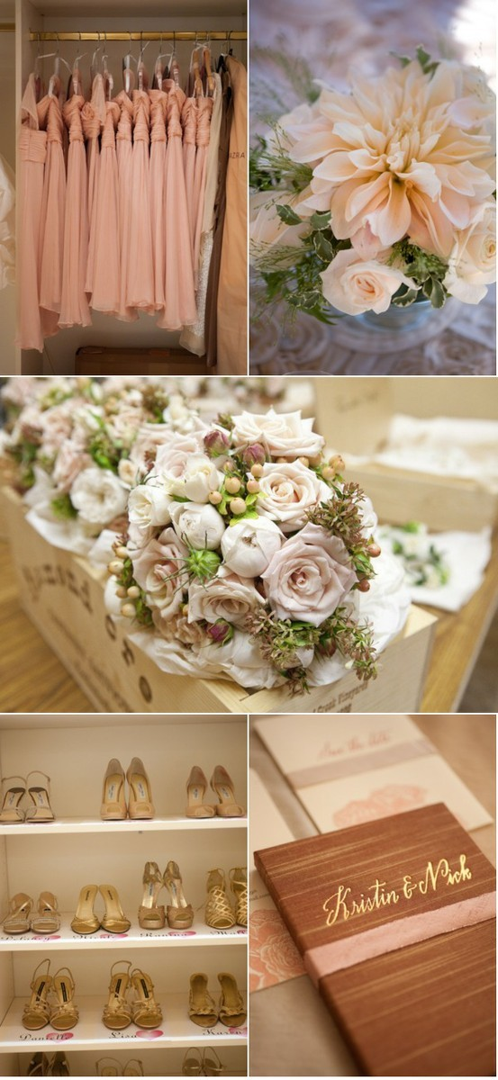 A wedding moodboard, I really liked the colours!