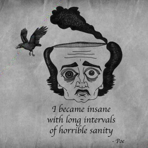 if i had any balls i would get a Poe tattoo.