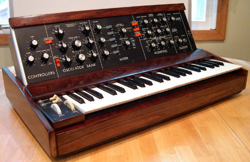 Minimoog Model D - In production (1970-81)