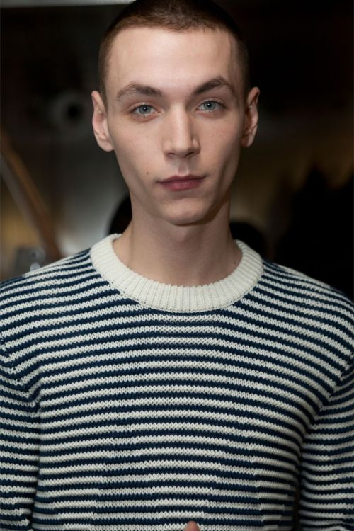 Yuri Pleskun - Pringle of Scotland SS13 Backstage