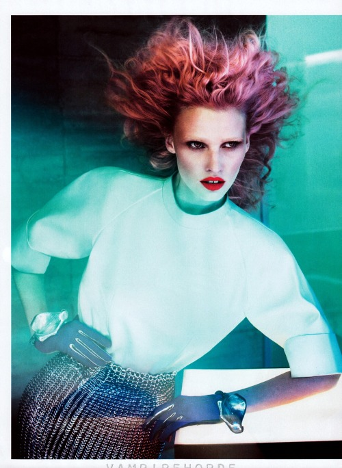Vogue US - July 2012 Risky Business Ph: Mert & Marcus