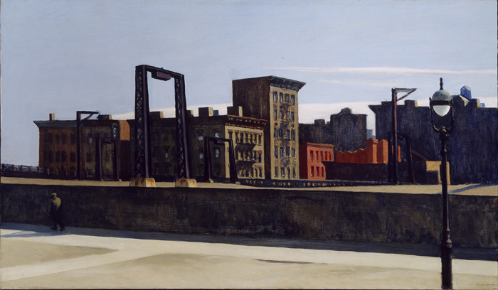 Edward Hopper, Manhattan Bridge Loop, 1928