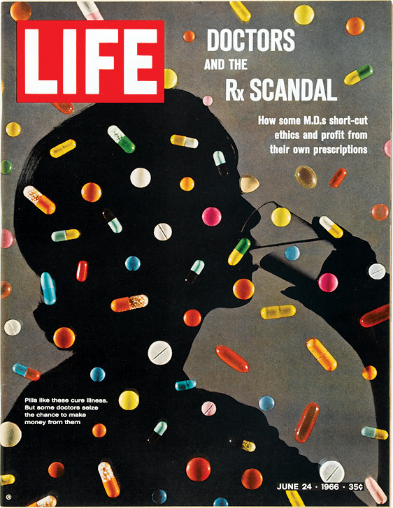 blua:  On this day in LIFE Magazine — June 24, 1966: Doctors and the RX Scandal