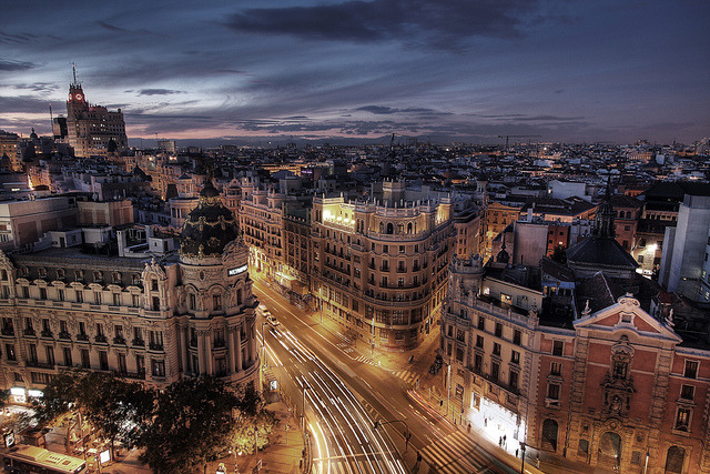 El corazón de Madrid by GustavoCba on Flickr.