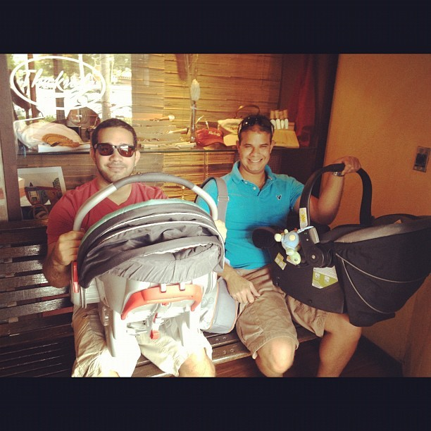 Their first father's day 😊 @alejandro9771 @jesuto2  (Taken with Instagram)