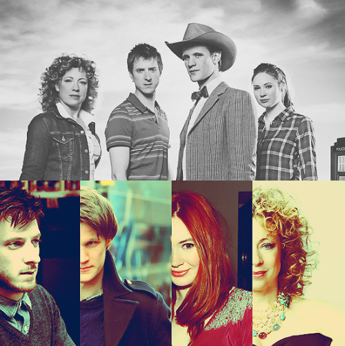 5 Favorite Co-Stars | Matt Smith, Karen Gillan, Arthur Darvill, Alex Kingston