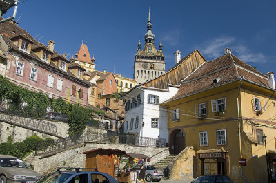 Sighisoara, patrimoni de la humanitat / Sighisoara, World Heritage by SBA73 on Flickr.