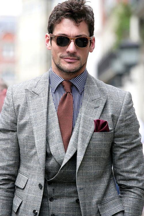 leahmcqueen:  David Gandy, London Collections: Men 2012