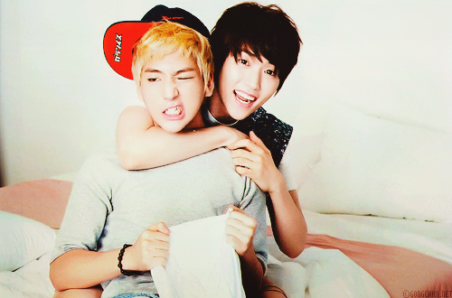 B1A4 sandeul Baro edit: b1a4 sanro babies r so qt sobs ... B1a4 Sandeul And Baro