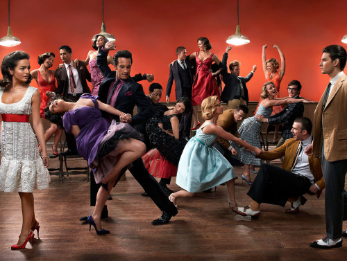 Mark Seliger recreates West Side Story  Featuring: Camilla Belle, Ben Barnes, Jennifer Lopez, Rodrigo Santoro, Chris Evans, Ashley Tisdale, Minka Kelly, Jay Hernandez, Natalie Martinez, Brandon T. Jackson, Melonie Diaz, Sean Faris, Shane Lynch, Robert Pattinson, Cam Gigandet, Trilby Glover, Brittany Snow, Drake Bell