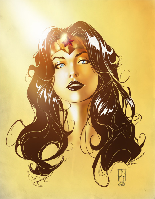 elrincondeharlock:  Wonder Woman Color by JaviGarcia
