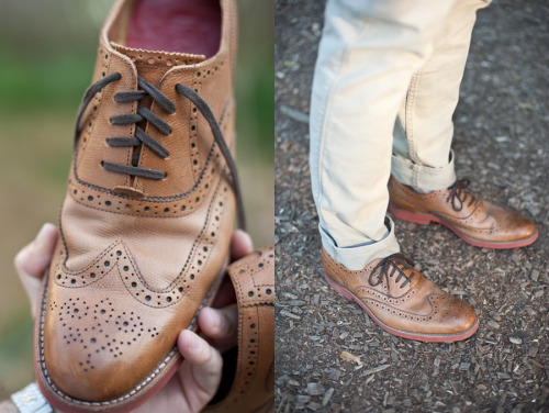 thetieguy:  i really want shoes like this. the brick soles make it for me.