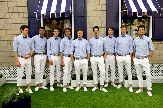 Tommy Hilfiger pop-up shop in London, 2011.