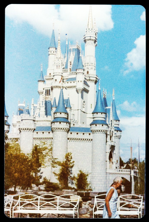 Cinderella's Castle at Disney World c. 1970's