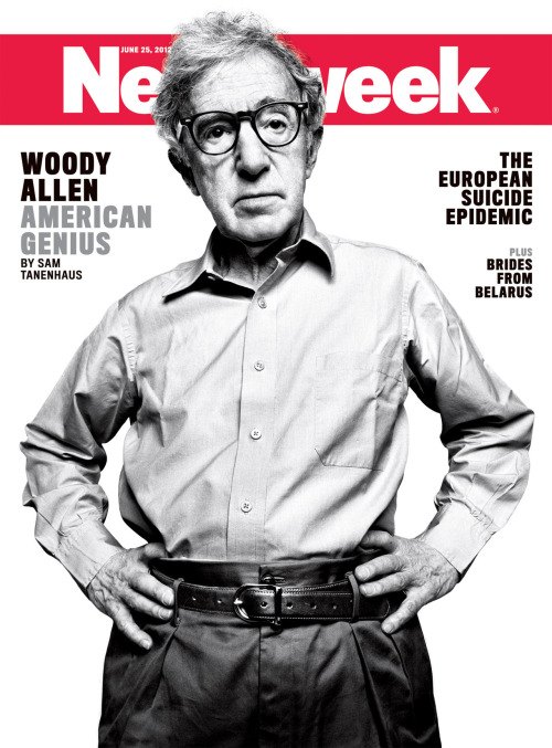 newsweek:  The cover of our international editions this week. Woody!