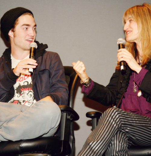 """Nobody has seen Rob's face more than me, okay? I mean nobody could be more immune to him than me but I'm not immune. [Laughing] It's ridiculous. But he's got heart, too. He's got talent. He has an artistic talent, a musical talent. He's got the depth. He reads. He thinks, you know?"" Catherine Hardwicke"