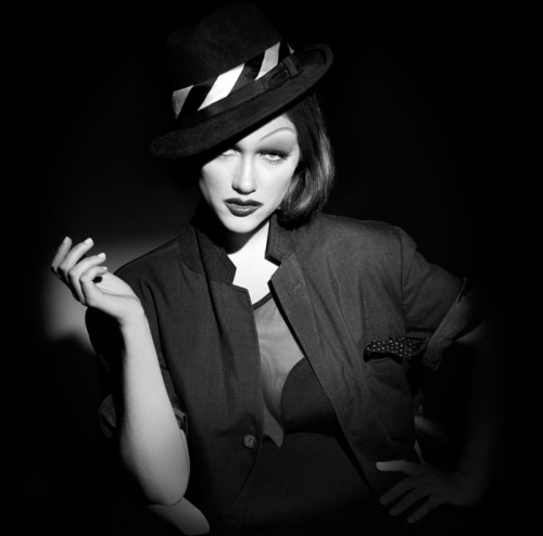 Watch as Billy B transforms model Nicole Fox into Marlene Dietrich!