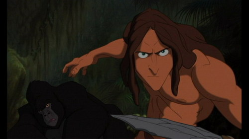 Tarzan, 1999 Kerchak: You came back. Tarzan: I came home.