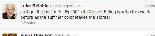 "Does it mean that Martha will be the first one to find Castle and Beckett ""in bed""?"