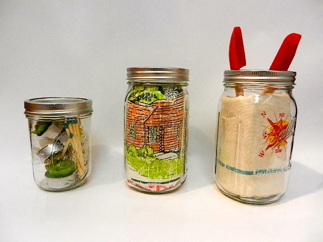 Tuesday Tip: Eco-Gifting Mason jars are a fun way to give gifts without using traditional gift wrapping paper. What's  not to like? They look great and- best of all- you can re-use them!