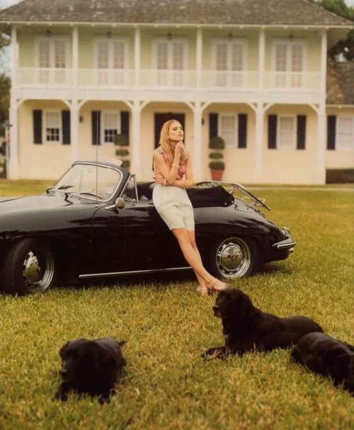 tommyhilfiger:  Dree Hemingway for Vogue UK, photographed by Tom Craig.