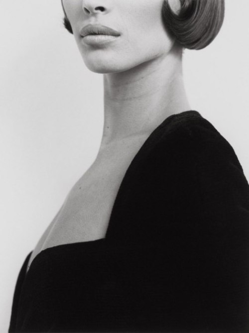 Christy Turlington, Versace 3, Milan, 1991. By Herb Ritts  Supermodel Christy Turlington in Versace, Milan, Italy.