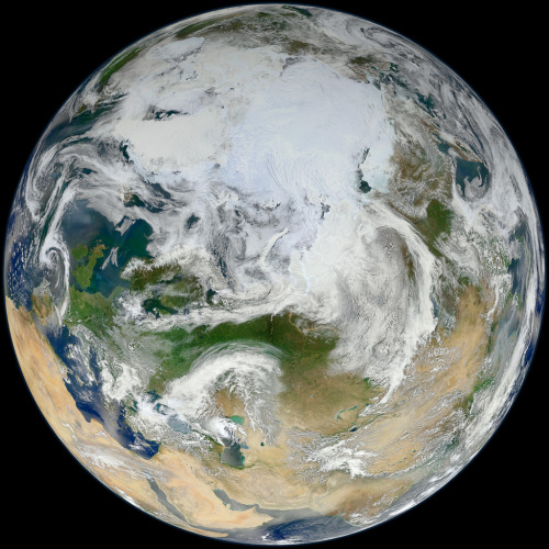 Blue Marble 2012: Arctic Edition