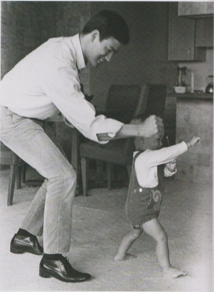 Bruce lee and his son