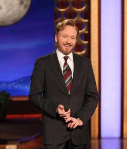 "Conan O'Brien Apologizes For Anti-Trans Joke Conan O'Brien apologized today after a monologue joke on his show last Tuesday upset members and allies of the LGBT community. O'Brien referred to Chicago as ""the city of the big shoulders"" and followed up by saying that it ""was better than the name they almost went with… 'the unconvincing tr*nny.'"" After members of the transgender community began to speak out and after GLAAD reached out, the show agreed to pull the clip and O'Brien issued an apology. http://www.glaad.org/blog/conan-obrien-apologizes-anti-trans-joke"