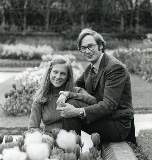 duchessofgloucester:  Engagement of The Duke and Duchess of Gloucester, 1972 by The British Monarchy on Flickr.