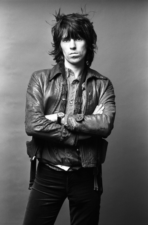 Keith Richards by Norman Seef, 1971.