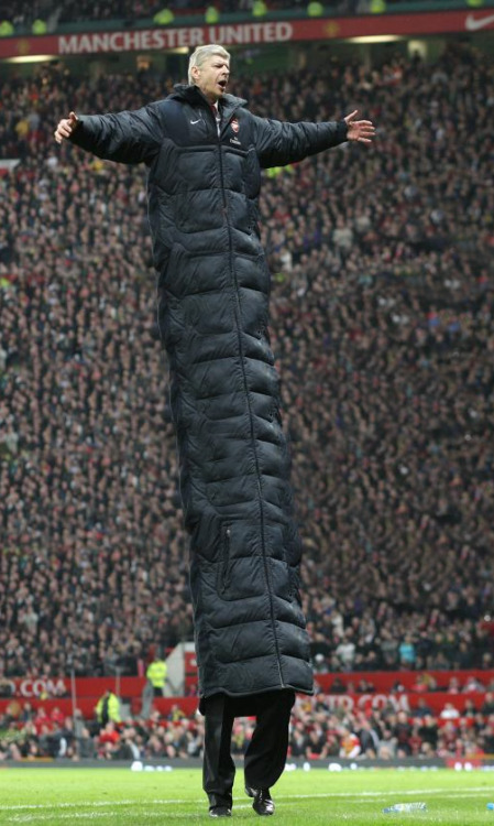 thearseblog:  Arsene's magic coat