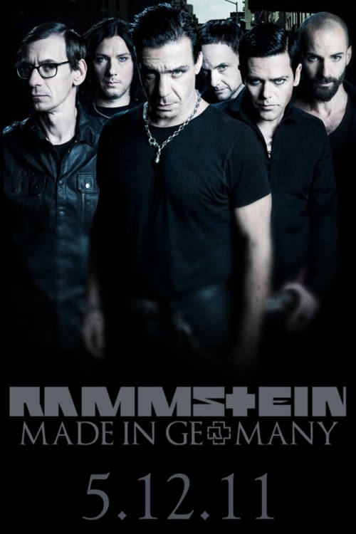 "Rammstein 30 Day Challenge - Day 12: Favourite promotional picture My favourite promo pic has to be the most recent one for Rammstein's ""Made in Germany"" tour (which I went to this past May!)"
