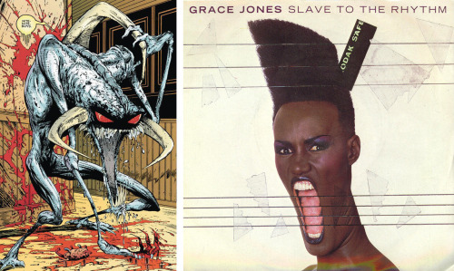 """The Violator"" from Spawn comics / Grace Jones"