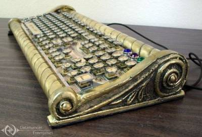 20,000 typos under the key. ::snicker:: Seafarer keyboard