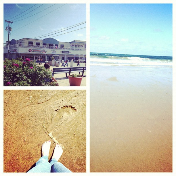 #picstitch Salisbury with Kathleen and her boyfriend and stuff. ☀🌊 (Taken with Instagram)